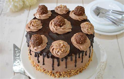 layer cake au ferrero rocher avec thermomix recette