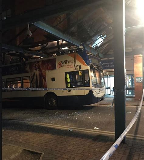 Five Passengers Suffered Injuries In Bus Crash In Grounds