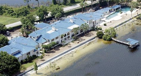 outdoor basketball 20 outrageous mansions owned by modern sports legends