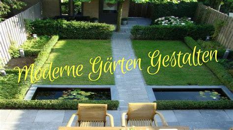 Moderne Gärten Gestalten Youtube