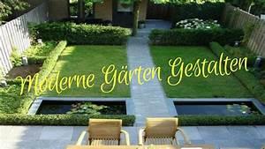 Moderne Gärten Bilder : moderne g rten gestalten youtube ~ Eleganceandgraceweddings.com Haus und Dekorationen