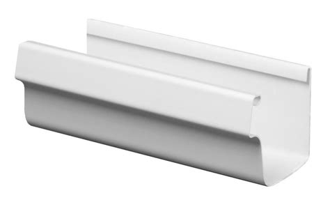 Traditional Vinyl K Style Gutters Are Designed For Easy