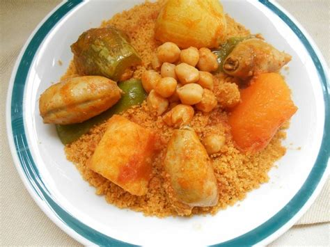 cuisine calamar couscous au calamar tunisie cuisine couscous