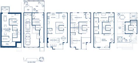 Luxury Townhome Floor Plans Townhouse Townhomes Il