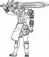 Kratos 1of3 sketch template