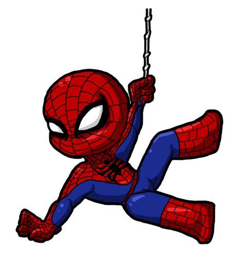 spiderman clipart cute cartoon  kids png