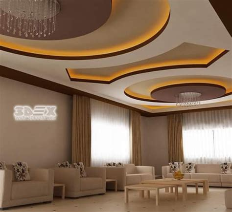 Modern Gypsum Board False Ceiling Designs, Prices