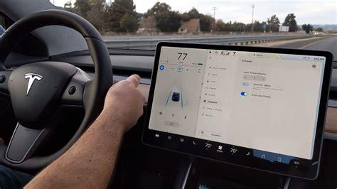 Get Tesla 3 Screen Blank When Driving Background
