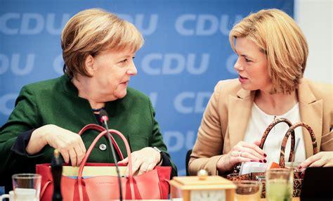 julia kloeckner soll ministerin fuer landwirtschaft und
