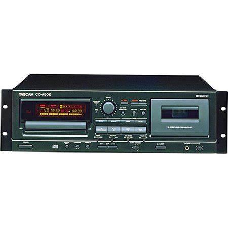 Cassette Cd Player by Tascam Tascam Cd Player And Cassette Combo Walmart