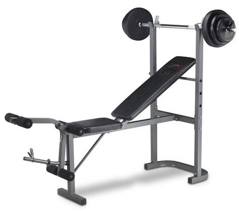 Banc De Musculation Avec Barre Et Set De Poids De 20 Kg