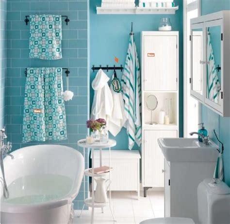 Ikea Badezimmer Blau by Blau Wei 223 Es Badezimmer Mit Retro Wanne Ikea Badezimmer