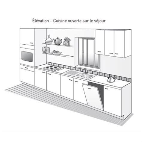 plan cuisine 6m2 plan de cuisine éaire plan de cuisine