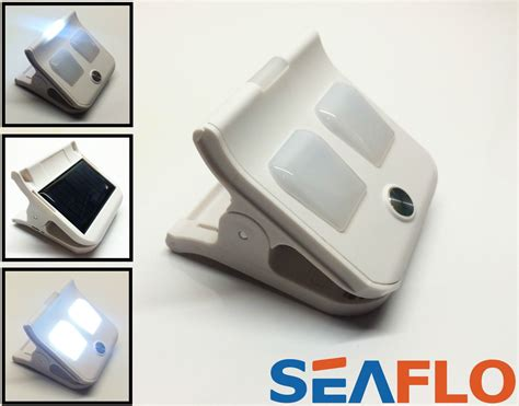 solar powered clip on led lights cing garden caravan