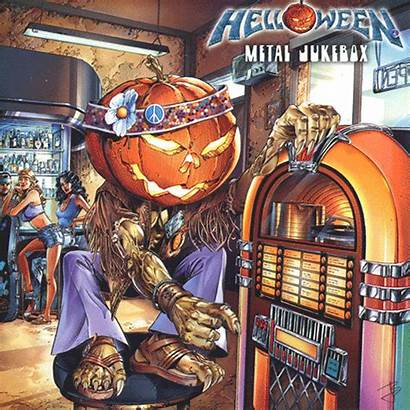 Album Animated Covers Gifs Metal Jukebox Helloween