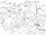 Hillbilly Bears Owsley Patrick Cartoon Pm sketch template