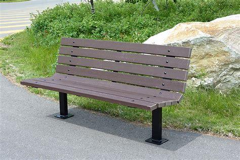 series ar benches custom park leisure