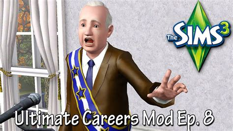 sims  ultimate careers mod political youtube