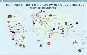 MAP: The Highest Rated Brewery In Every Country | VinePair