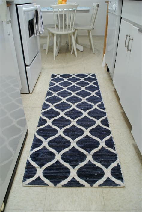 kitchen floor mats runners 20 ideas of hallway runners blue 4787