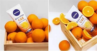 Lotion Nivea Vitamin Extra Clozette Orange