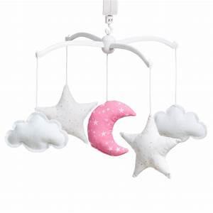 Mobile Musical Rose : mobile toiles magiques roses lili pouce boutique d co chambre b b enfants et cadeaux ~ Teatrodelosmanantiales.com Idées de Décoration