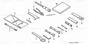 Honda Motorcycle 2005 Oem Parts Diagram For Tools