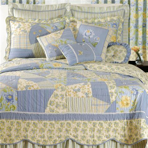 Yellow Quilts And Coverlets by Blue Country Quilts With The Color And Of