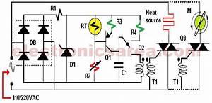 Heat Control Using Thermistor And Triac