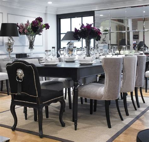 kitchen table 8 chairs extending black dining table 8 chairs special offer