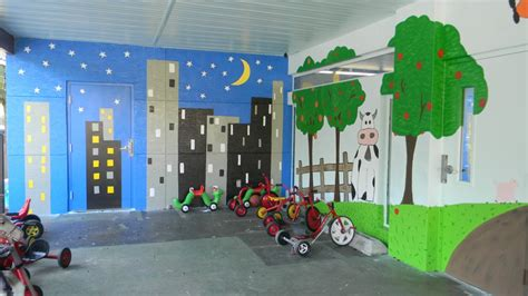 chico s employees create playground mural for ccmi 402 | CCMI school 2013 3 1024x576