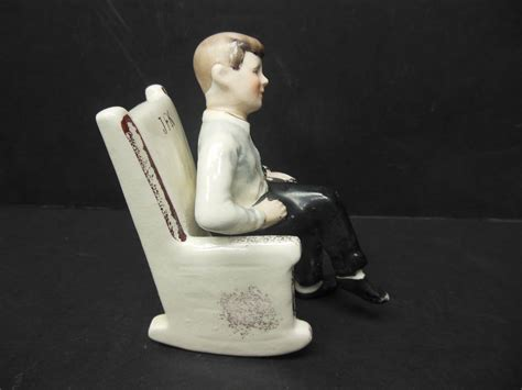 f kennedy rocking chair salt pepper shaker from antiquegal on ruby