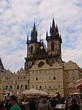 Two Prague Town Squares; The Old Town Square and Wenceslas ...