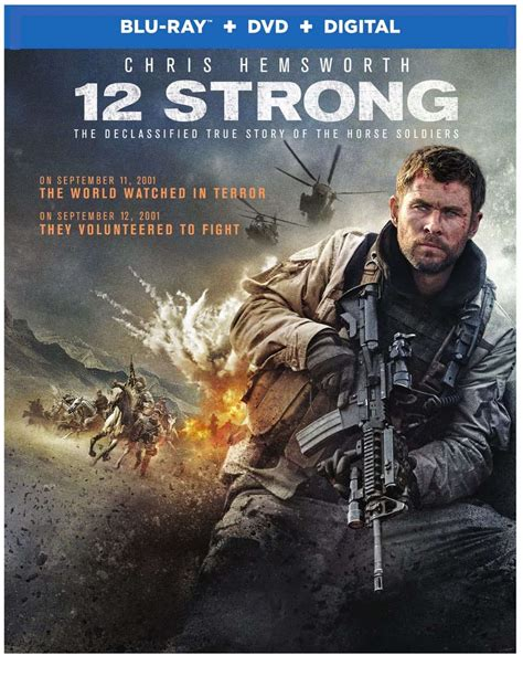 12 Strong Bluray And Dvd Release Details Seat42f