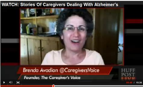 caregivers stories in dealing with alzheimer s