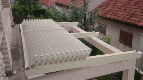 aluminum retractable roof persa youtube