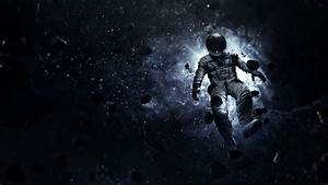 Astronaut floating in space HD desktop wallpaper ...