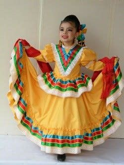 Jalisco in 2019 Mexican dresses Folklorico dresses