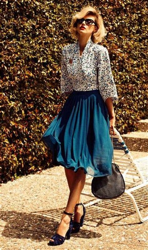 Best 25+ Vintage style outfits ideas on Pinterest | Vintage style Vintage outfits and Retro outfits