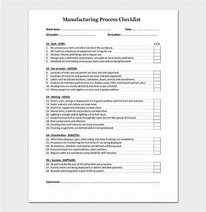 Affordable Templates  Manufacturing Process Documentation