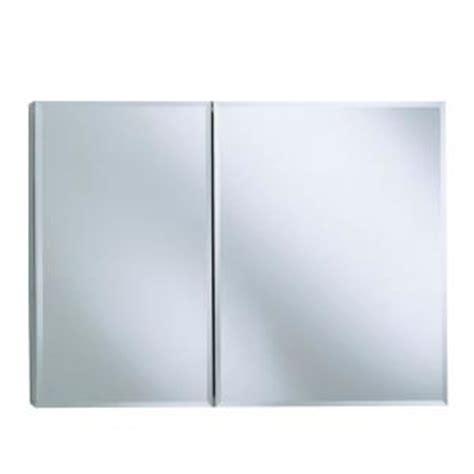 kohler 35 in w x 26 in h two door recessed or surface