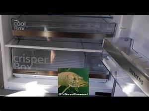 Kühl Gefrierkombi Siemens : review 70 cm k hl gefrierkombi siemens kg49ebi40 youtube ~ Frokenaadalensverden.com Haus und Dekorationen