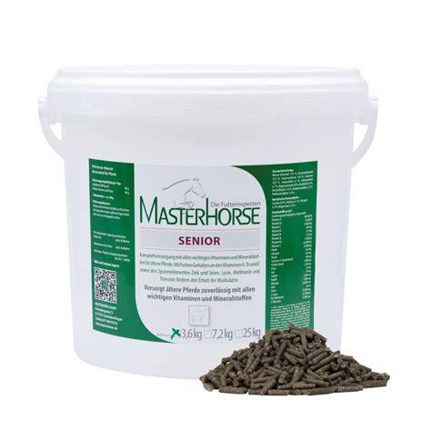 masterhorse senior pellets mineralfutter fuer aeltere pferde