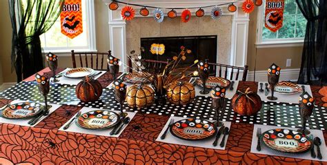 innovative ideas  halloween table decorations