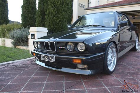 1991 Bmw E30 by 1991 Bmw E30 M3 Convertible In Sydney Nsw