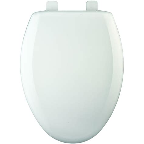 Bemis Elongated Closed Front Toilet Seat With Cover In