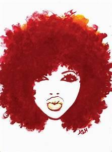 Natural Hair Love Art | alireyisboss