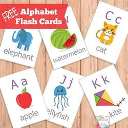 free printable abc flash cards free homeschool deals
