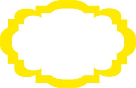 yellow frame clip art  clkercom vector clip art  royalty  public domain