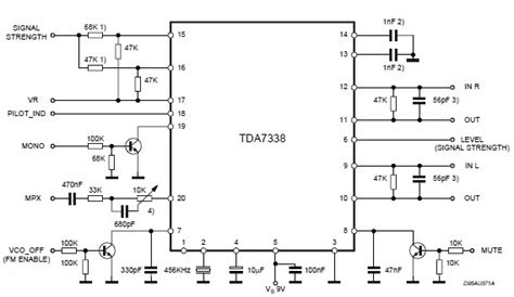 Tda Stereo Decoder Circuit Design Electronic Project